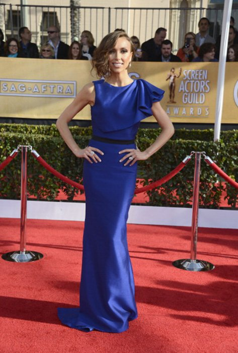 LOS ANGELES, CA - JANUARY 27:  TV personality Giuliana Rancic arrives at the 19th Annual Screen Actors Guild Awards held at The Shrine Auditorium on January 27, 2013 in Los Angeles, California.  (Photo by Frazer Harrison/Getty Images)