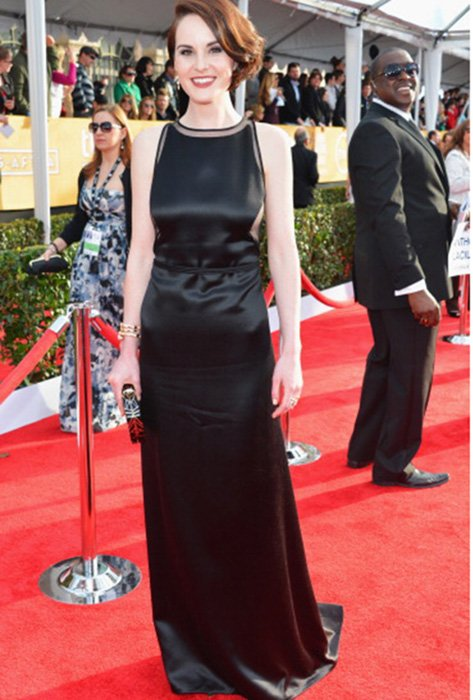 LOS ANGELES, CA - JANUARY 27:  Actress Michelle Dockery arrives at the 19th Annual Screen Actors Guild Awards held at The Shrine Auditorium on January 27, 2013 in Los Angeles, California.  (Photo by Alberto E. Rodriguez/Getty Images)