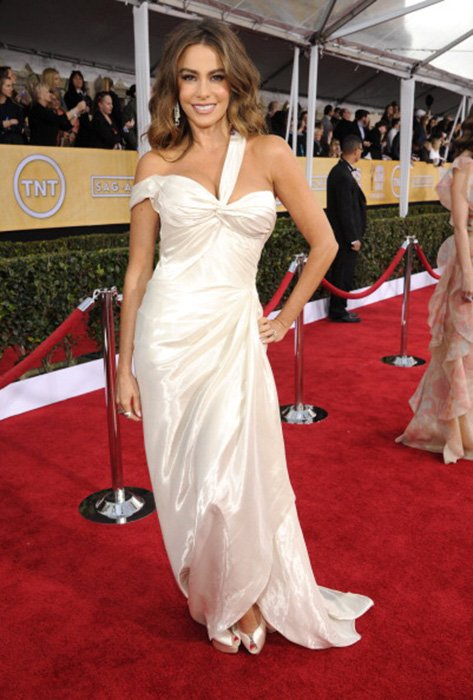LOS ANGELES, CA - JANUARY 27:  Sofia Vergara attends the 19th Annual Screen Actors Guild Awards at The Shrine Auditorium on January 27, 2013 in Los Angeles, California. (Photo by Kevin Mazur/WireImage) 23116_016_1032.jpg