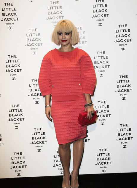Rita-Ora-Chanel-'The-Little-Black-Jacket'-Exhibition-Opening-In-Dubai
