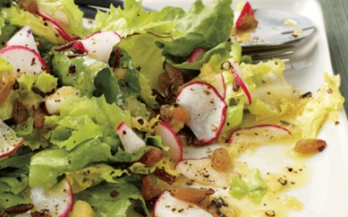 Çıtır Şitake Salatası