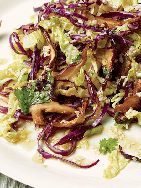 Beklemiş Karalahana Salatası