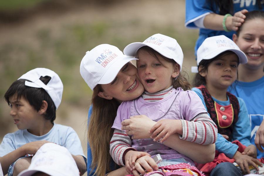 Türkeli İlkokulu KPMG Gönüllüleri Kütüphane Açılışı (1)