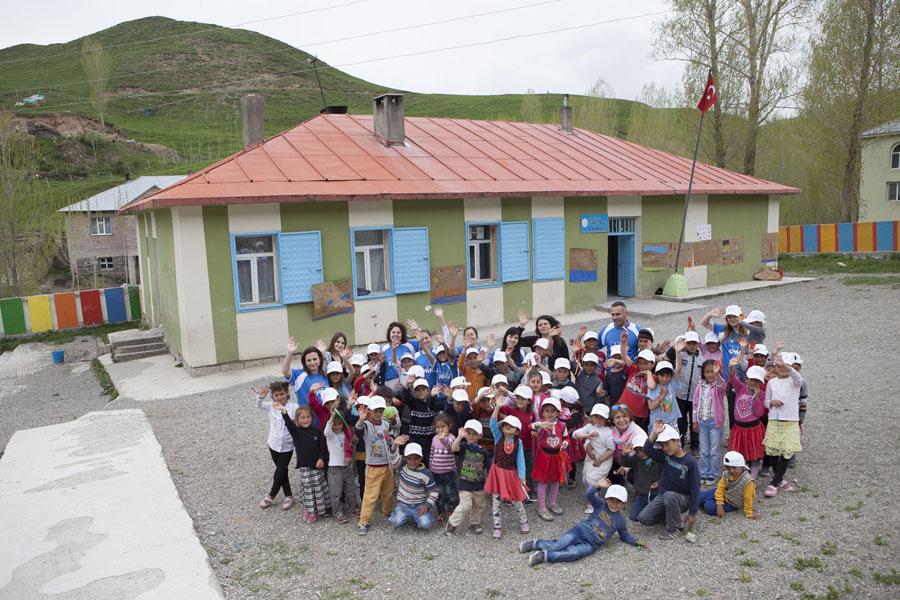 Türkeli İlkokulu KPMG Gönüllüleri Kütüphane Açılışı (2)