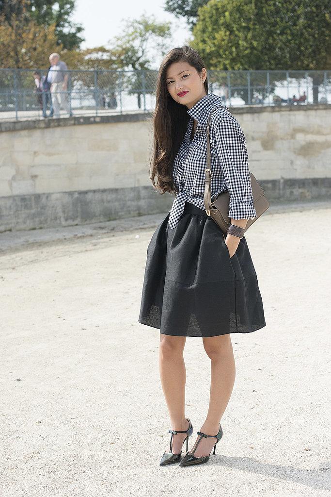 Knotted-full-skirt