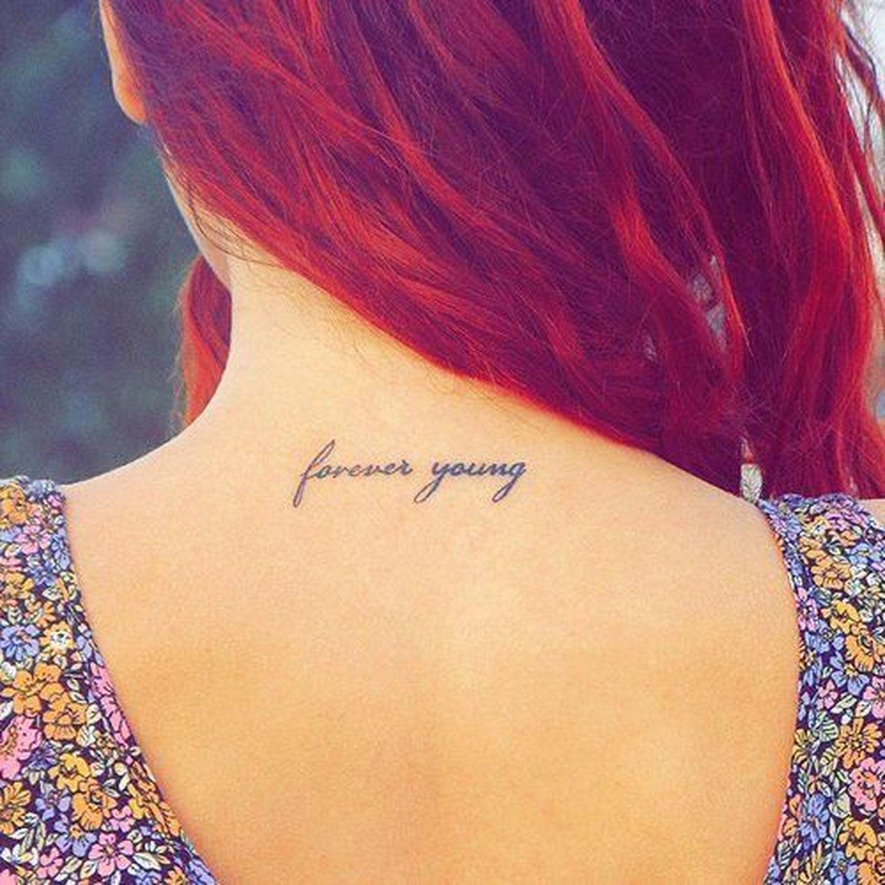Татуировки для девушки на шее: 100 лучших идеи на фото - Рататум 89