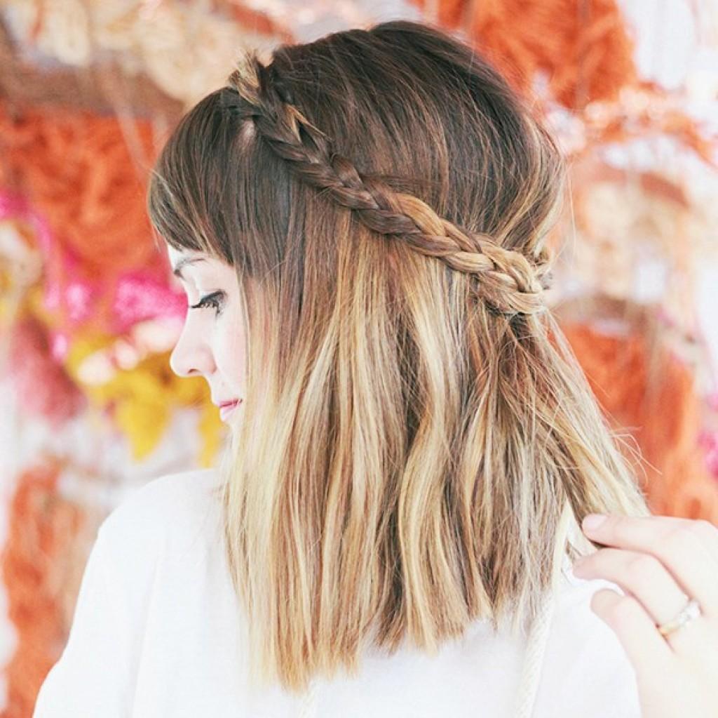 Стрижки в стиле бохо на короткие волосы
