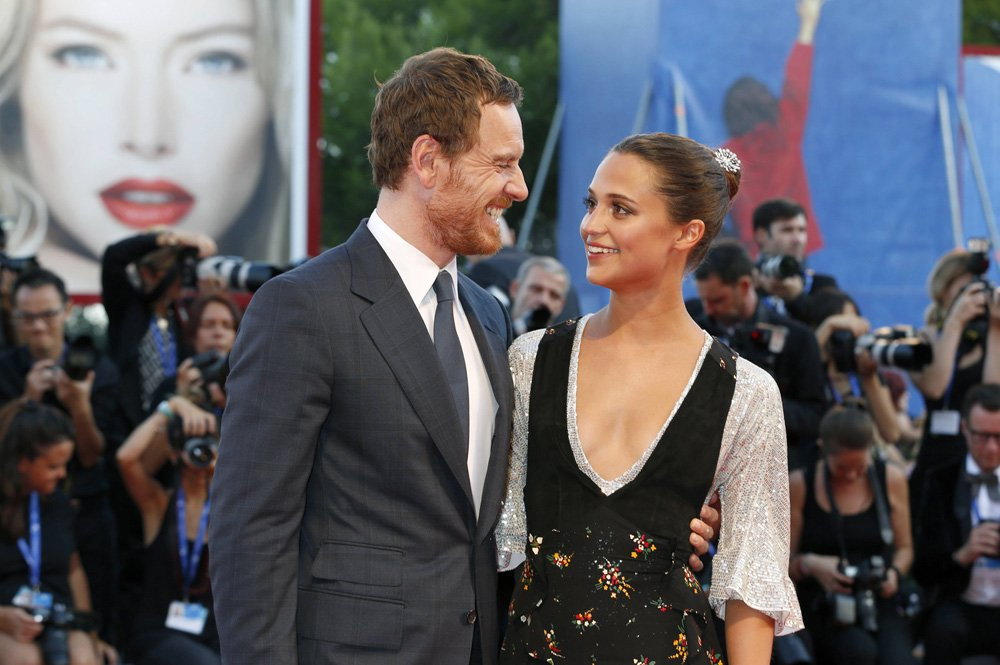 Michael Fassbender and Alicia Vikander attending the The Light Between Oceans premiere at the 73rd Venice International Film Festival on September 01, 2016 Foto:xD.xBedrosianx/xFuturexImage Michael Faßbender and Alicia Vikander attending The The Light between Oceans Premiere AT The 73rd Venice International Film Festival ON September 01 2016 Photo XD xBedrosianx xFuturexImage