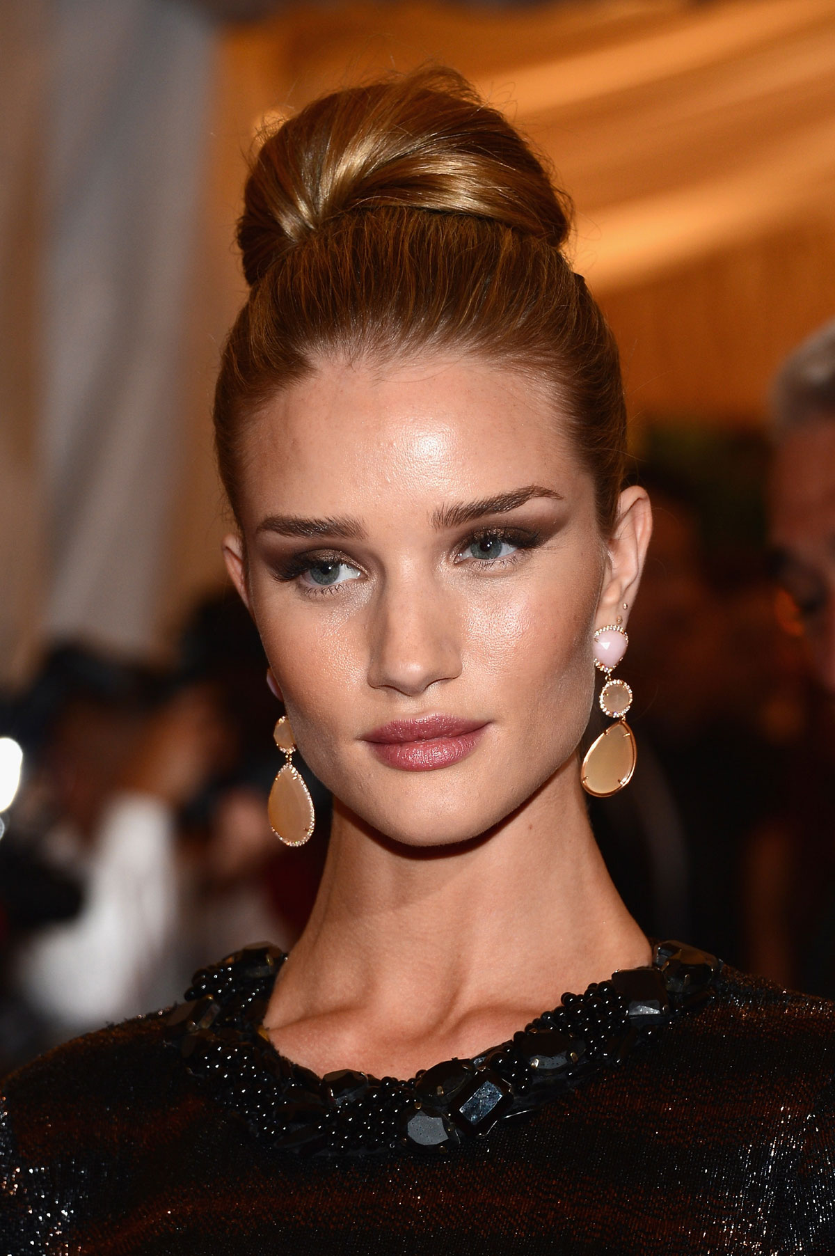 ROSIE HUNTINGTON WHITELEY at Metropolitan Museum of Art's Costume Gala 2012 in New York