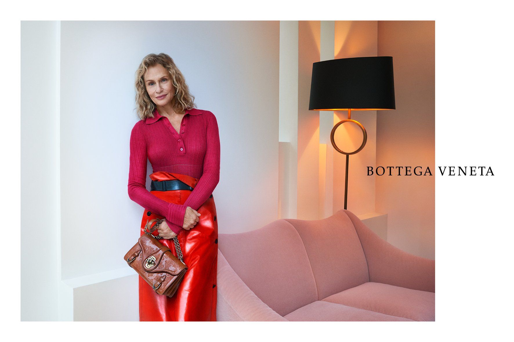 Bottega Veneta SS17 DPS Lauren Hutton
