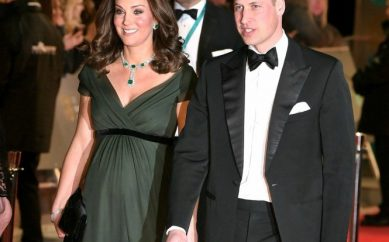 KATE MIDDLETON VE PRENS WILLIAM'IN BAFTA ŞIKLIĞI