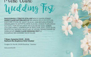 MARIE CLAIRE WEDDING FEST İÇİN GERİ SAYIM BAŞLADI