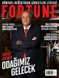 Fortune Dergisi Ekim 2018 Kapak